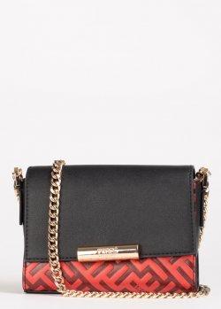 Красная сумка Ferre на цепочке, фото