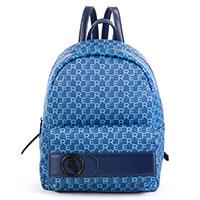 Женский рюкзак Ferre синего цвета, фото
