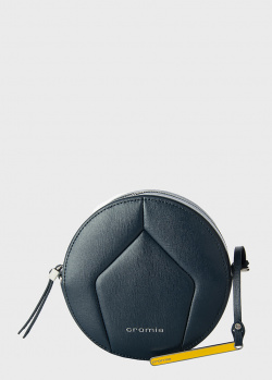 Круглая сумка Cromia Ologram темно-синего цвета, фото