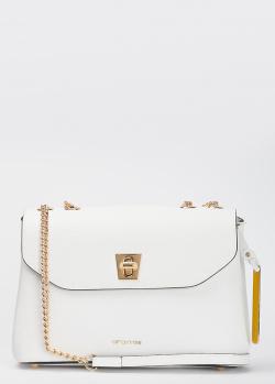 Белая сумка Cromia Mina на цепочке, фото