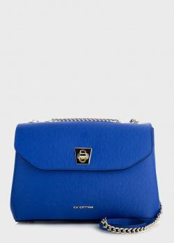Синяя сумка Cromia Mina с цепочкой, фото