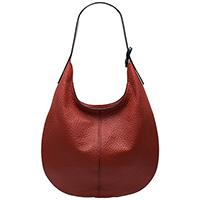 Сумка-хобо Ripani Maya красного цвета, фото