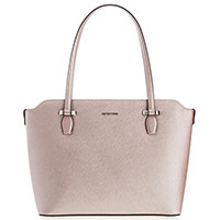 Деловая сумка Cromia Perla светло-розового цвета, фото