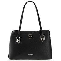 Черная деловая сумка Cromia Mina из кожи, фото