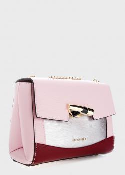 Розовая сумка Cromia Kesi на цепочке, фото