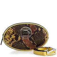 Поясная сумка Cromia Saran с животным принтом, фото