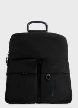 Текстильный рюкзак Mandarina Duck MD черного цвета, фото