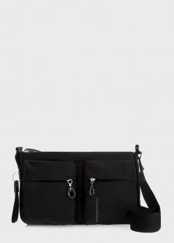 Черная сумка Mandarina Duck MD прямоугольной формы, фото