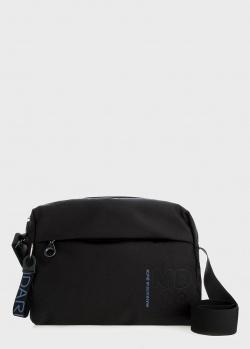 Текстильная сумка Mandarina Duck MD с брендовым тиснением, фото