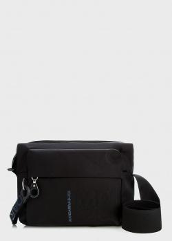 Черная сумка Mandarina Duck MD с карманом на молнии, фото