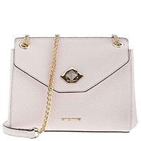 Светло-розовая сумка Cromia Mina на цепочке, фото