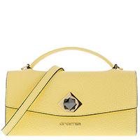 Сумка-клатч Cromia Mina желтого цвета, фото