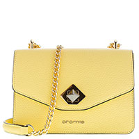 Женская сумка Cromia Mina желтого цвета, фото