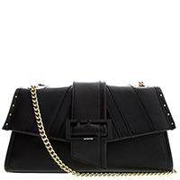Черная сумка Cromia Stripe на цепочке, фото