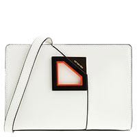 Белая сумка Cromia Diamond прямоугольной формы, фото