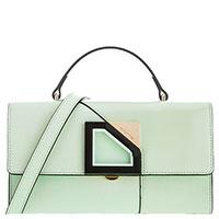 Женская сумка Cromia Diamond бирюзового цвета, фото