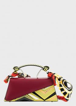 Желтая сумка Cromia Ergobando с платком, фото