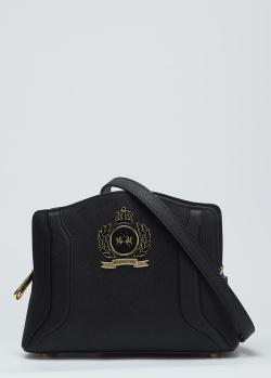 Сумка кросс-боди Lа Martina Clara черного цвета, фото