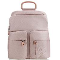 Розовый рюкзак Mandarina Duck из текстиля, фото