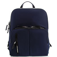 Женский рюкзак Mandarina Duck темно-синего цвета, фото