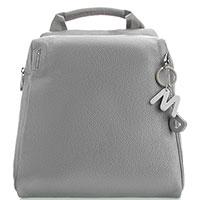 Рюкзак Mandarina Duck из кожи серого цвета, фото