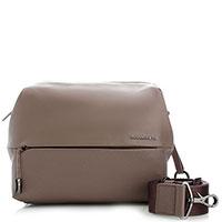 Бежевая сумка Mandarina Duck из гладкой кожи, фото