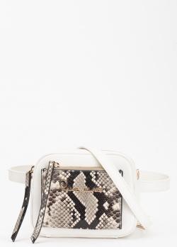 Поясная сумка Cavalli Class Susan со змеиным принтом, фото