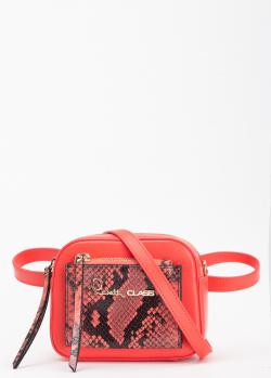Поясная сумка Cavalli Class Susan красного цвета, фото