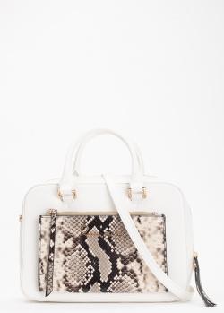Белая сумка Cavalli Class Susan прямоугольной формы, фото