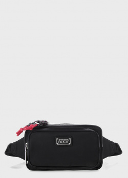 Поясная сумка Mandarina Duck Style с контрастными деталями, фото