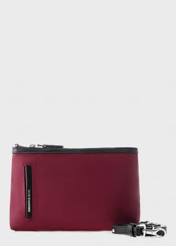 Маленькая сумка Mandarina Duck Hunter бордового цвета, фото