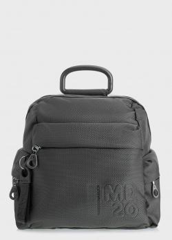 Серый рюкзак Mandarina Duck MD из текстиля, фото