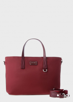 Сумка-шоппер Mandarina Duck Style бордового цвета, фото