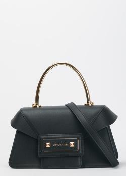 Черная сумка Cromia Diva с регулируемым ремнем, фото