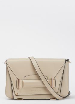 Бежевая сумка Cromia Avantgarde со съемным ремнем, фото