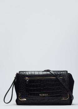 Клатч Baldinini Annie с тиснением под рептилию, фото