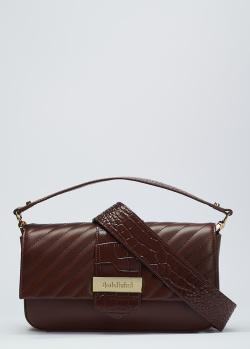 Женская сумка Baldinini Lea бордового цвета , фото