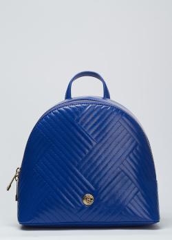 Стеганый рюкзак Baldinini Keira синего цвета, фото