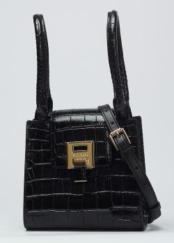 Черная сумка Baldinini Vivien со съемным ремнем, фото