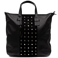 Черная сумка Ripani Senape прямоугольной формы, фото