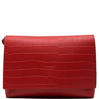 Маленькая сумка Ripani Waffle красного цвета, фото