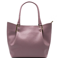 Розовая сумка Ripani Delizia из кожи с тиснением сафьяно, фото