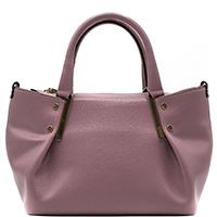 Розовая сумка Ripani Delizia с металлическим декором, фото