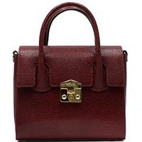 Сумка-портфель Ripani Cruffin бордового цвета, фото