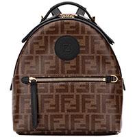 Текстильный рюкзак Fendi с принтом, фото