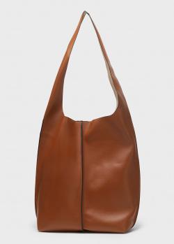 Коричневая сумка Liviana Conti на одно отделение, фото