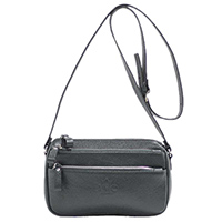 Зеленая сумка Amo Accessori Comfort из зернистой кожи, фото