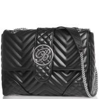 Женская сумка Blumarine Taryn из черной кожи, фото