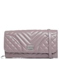 Клатч Blumarine Taryn стеганый розового цвета, фото