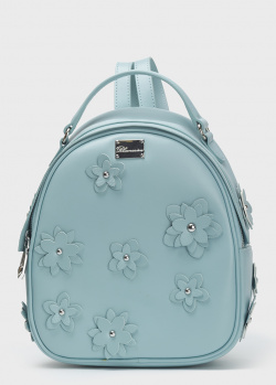 Рюкзак Blumarine Anne с цветочной аппликацией, фото